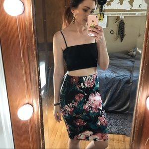 5 for $25 SALE!  LARA Floral Pencil Skirt